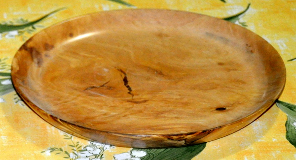 1323 coppia di piatti in ulivo da 20 e 23 cm